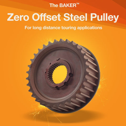 Zero Offset Steel Pulley