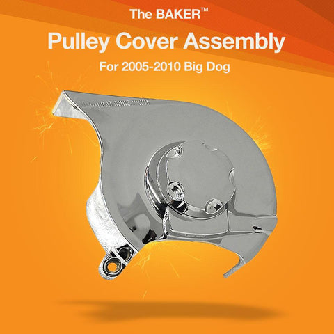Pulley Cover Assembly for 2005-2010 Big Dog