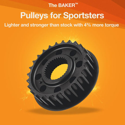 Pulleys for Sportsters