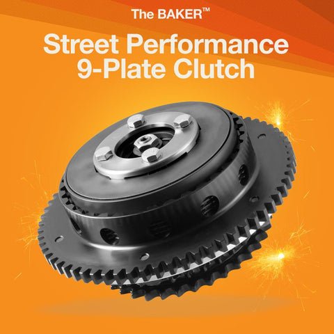 9-Plate Street Performance Clutch