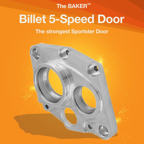 Billet 5-Speed Door