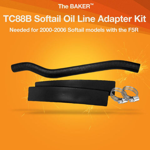 TC88B Softail Oil Line Adapter Kit
