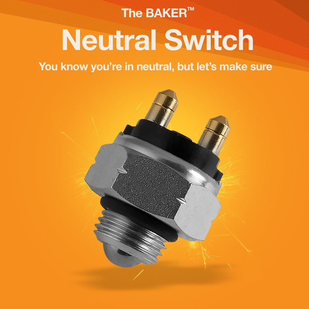Neutral Safety Switch for Harley-Davidson Motorcycles