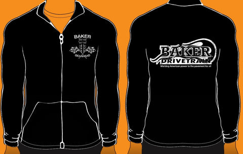 BAKER Zip-up Gearhead Fleece