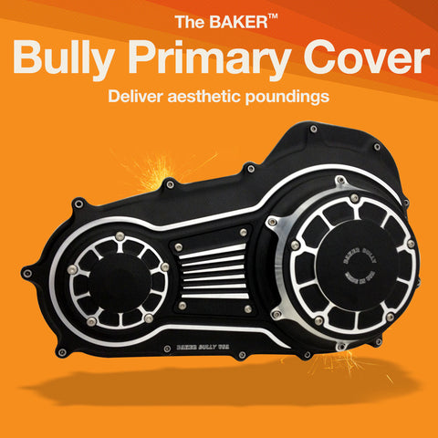 Bully primary cover for 2007-up Harley-Davidson touring motorcycles