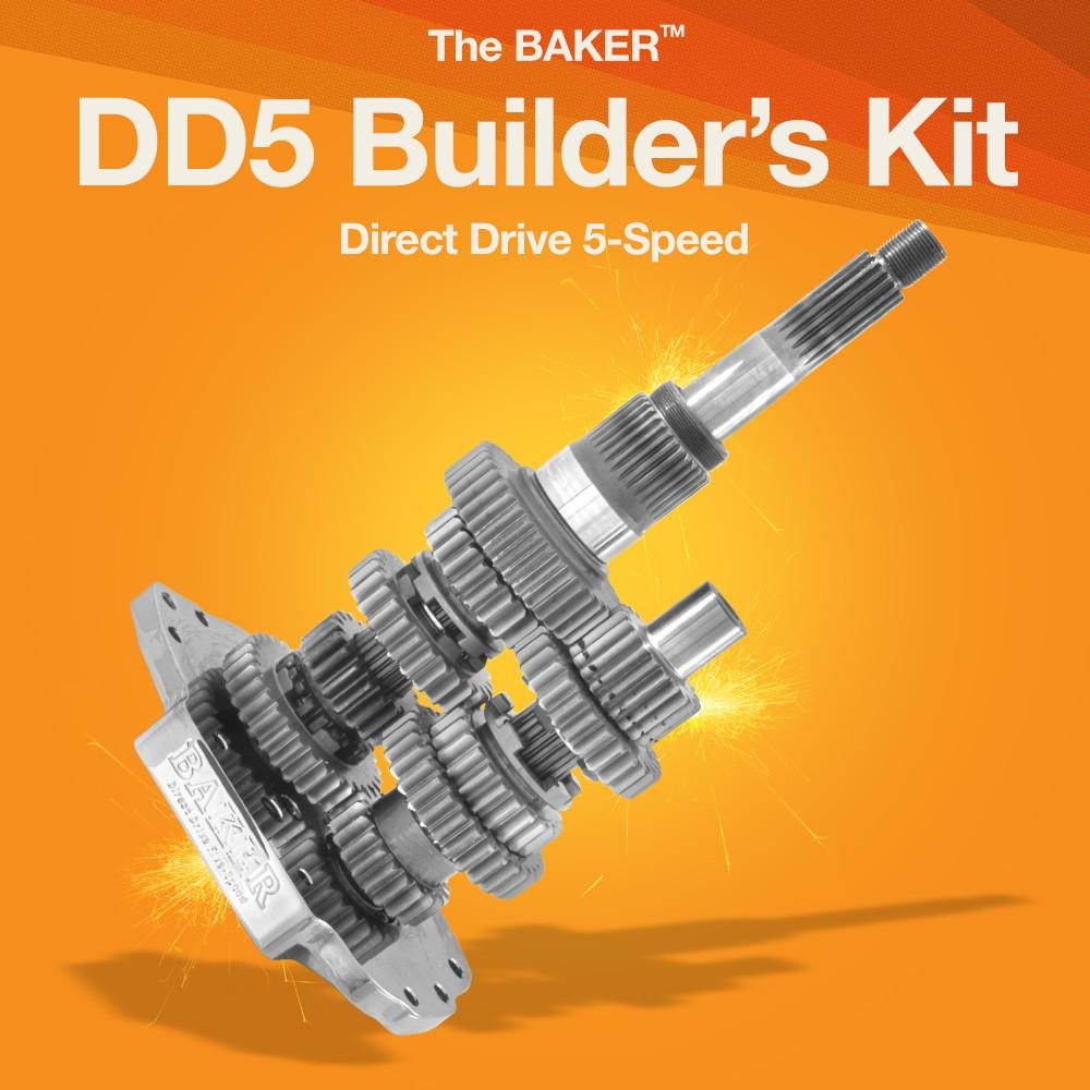 DD5: Direct Drive 5-Speed Builder's Kit - BAKER Drivetrain