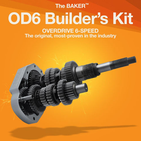 OD6: Overdrive 6-Speed Builder's Kit