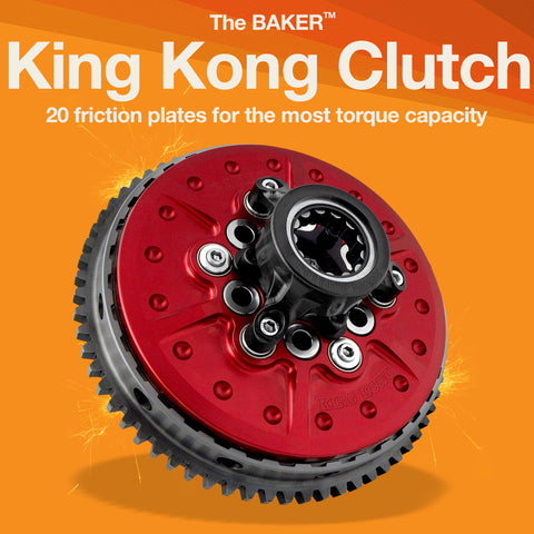 KKC: King Kong Clutch for 1990-2006 Harley-Davidson motorcycles
