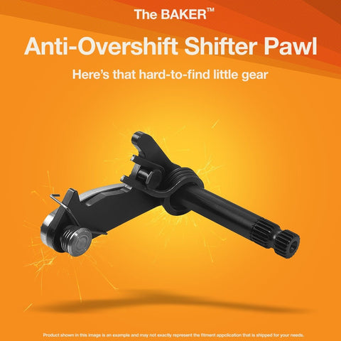 Anti Overshift Ratchet Pawl