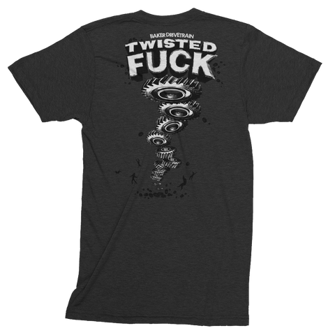 "BAKER ""Twisted Fuck"" Short Sleeve Track Shirt"