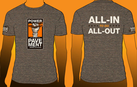 """Power To The Pavement"" T-Shirt"