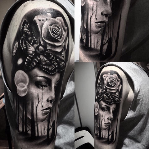 Tattoo by Jake Eves