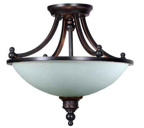 Arizona 3LT Semi Flush Pendant