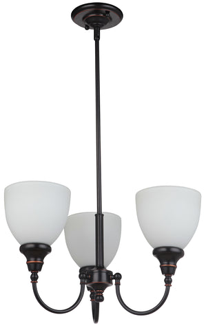 Benson 3LT Up Pendant Bronze