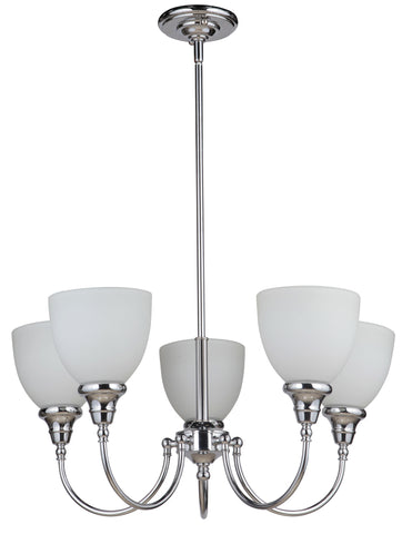 Benson 5LT Up Pendant Chrome