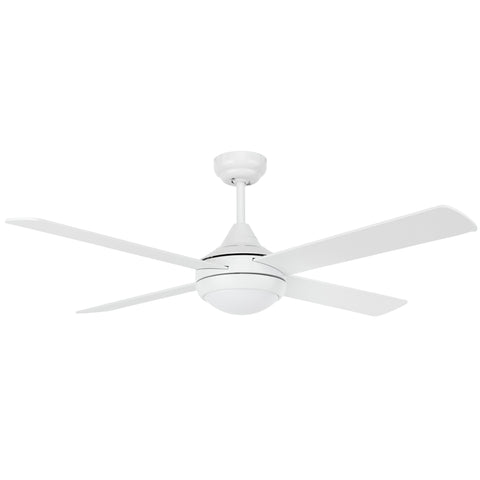 "Fanco Eco Silent 48"" DC Ceiling Fan with Remote & LED Light"