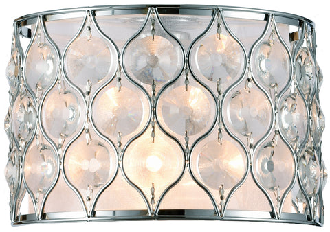 Champagne 2LT Wall Light