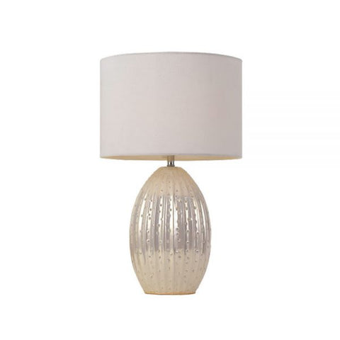 Darla Table Lamp - White