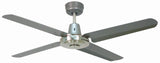 Swift Metal 1400 Ceiling Fan - Titanium by Mercator from Harvey Norman Lighting - 3
