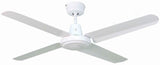 Swift Metal 1400 Ceiling Fan - White by Mercator from Harvey Norman Lighting - 1