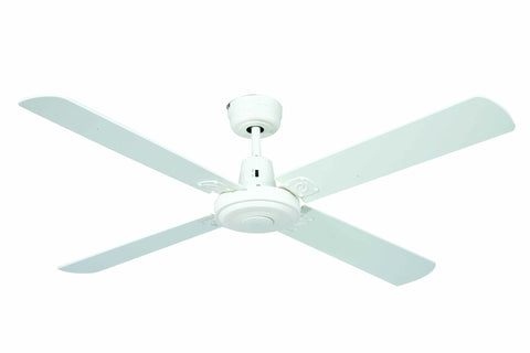 Swift Timber 1300 Ceiling Fan - White by Mercator from Harvey Norman Lighting - 1