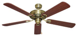 Hayman 1300 Ceiling Fan - Antique Brass by Mercator from Harvey Norman Lighting - 2