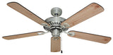 Hayman 1300 Ceiling Fan - Brushed Chrome by Mercator from Harvey Norman Lighting - 3