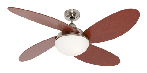 Rosebery 1300 ceiling fan with light harvey norman lighting rosebery 1300 ceiling fan with light brushed chrome by mercator from harvey norman lighting aloadofball Images