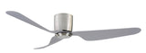 City 1300 DC Ceiling Fan No Light - Brushed Chrome by Mercator from Harvey Norman Lighting - 2