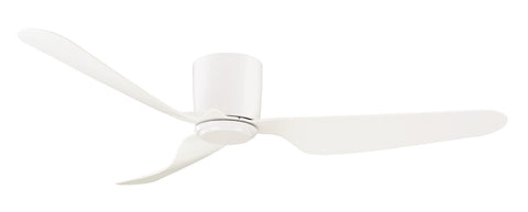 City 1300 DC Ceiling Fan No Light - White by Mercator from Harvey Norman Lighting - 1