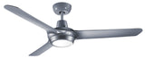 Spyda 1250 Ceiling Fan With Light - Titanium by Ventair from Harvey Norman Lighting - 2