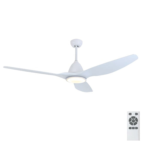 "Fanco Horizon 64"" DC Ceiling Fan with Remote & CCT LED Light"