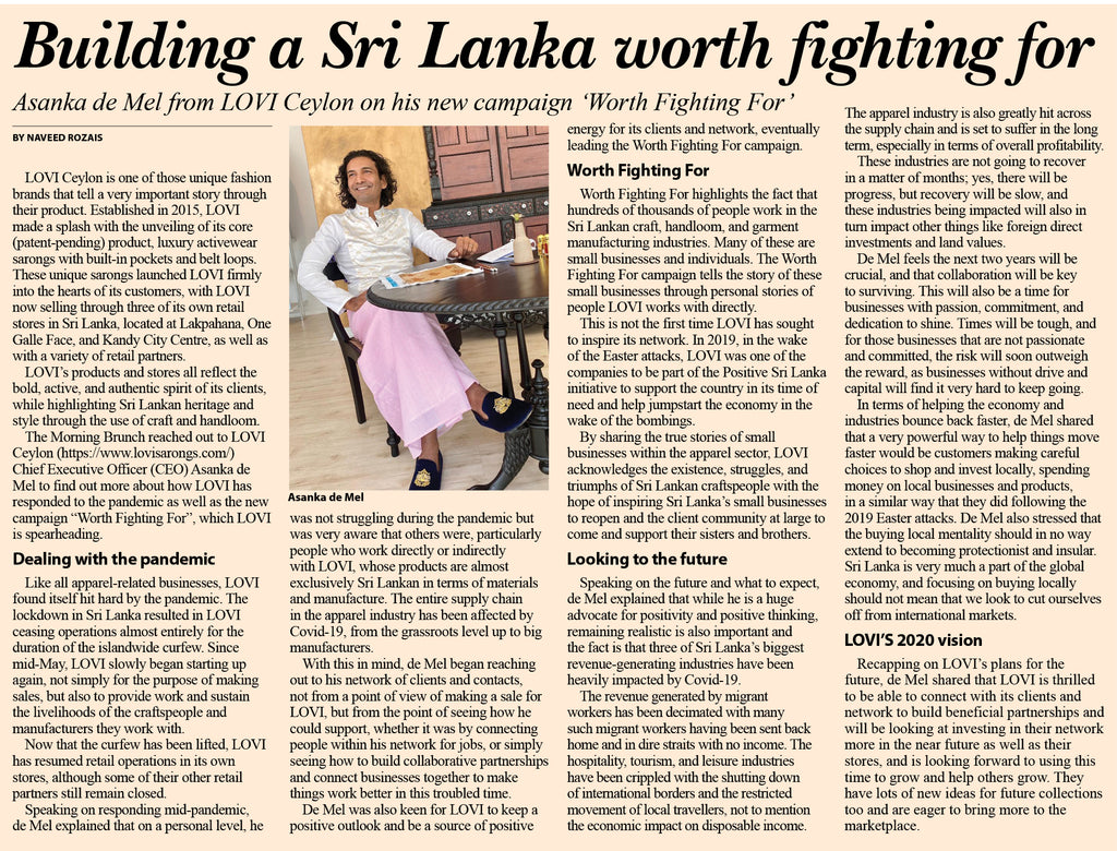 Building a Sri Lanka worth fighting for