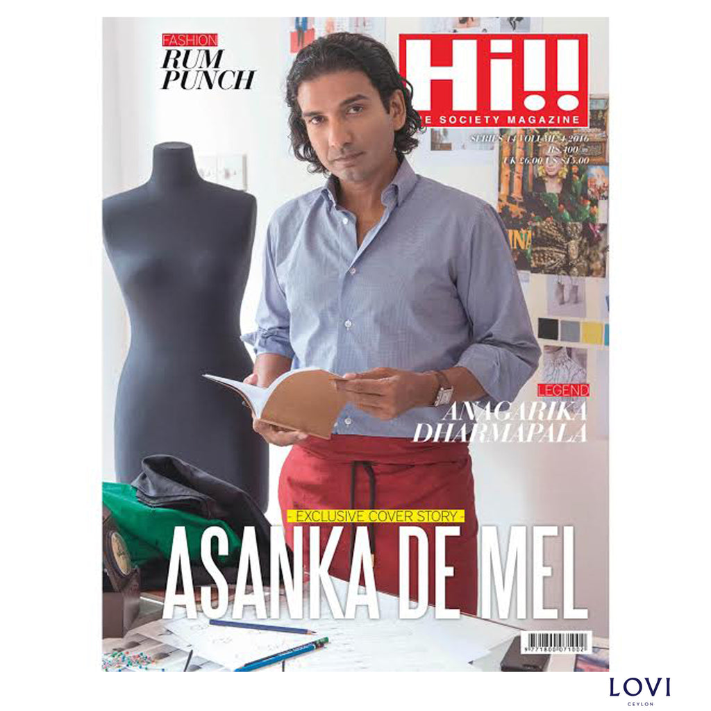 Tech Savvy Entrepreneur Turned Fashion Designer Asanka De Mel - Hi!! Magazine Cover Story