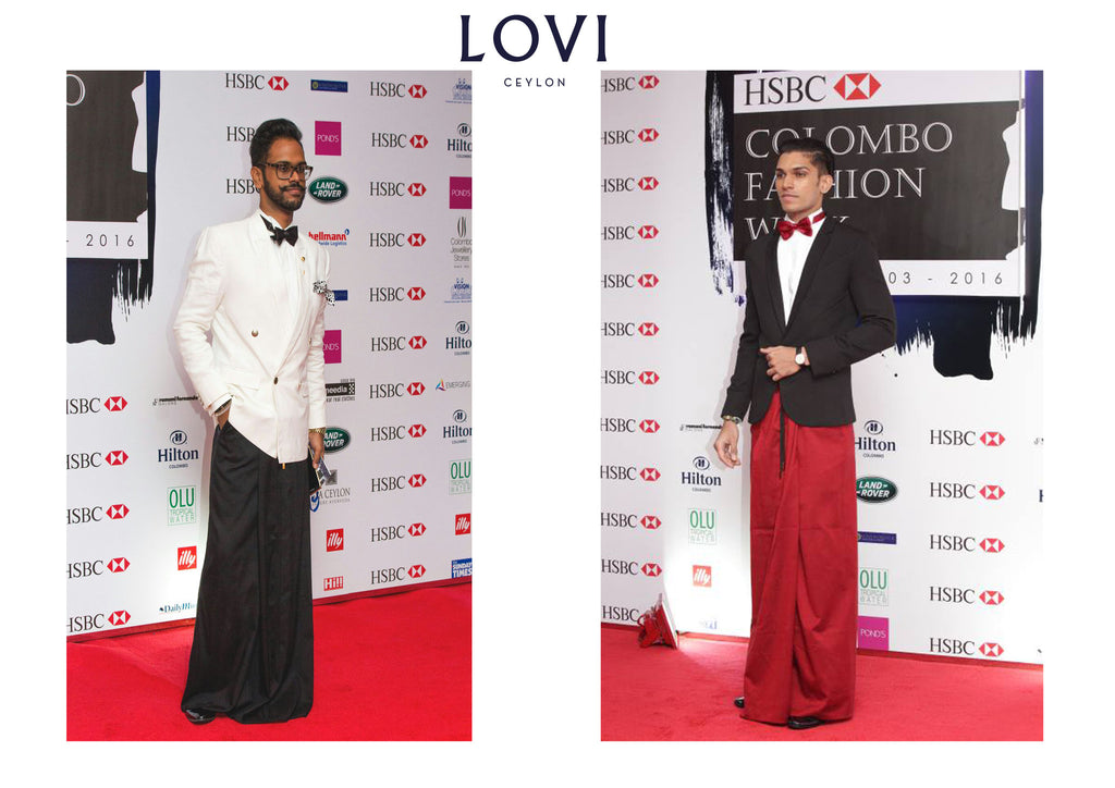 LOVI takes on the CFW Red Carpet.
