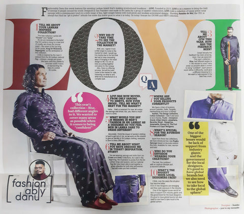 Fashionably by Danu Feature 27th March 2019