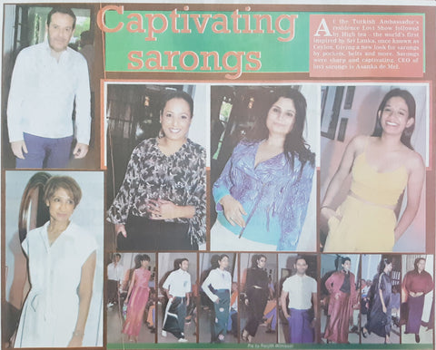 Sunday Island Pictorial Coverage of LOVI Show