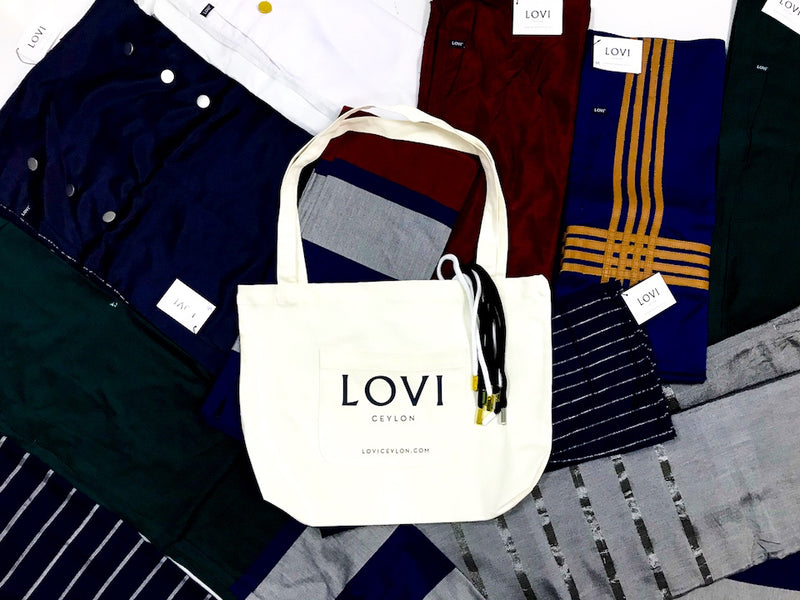 LOVI Canvas Tote Bag