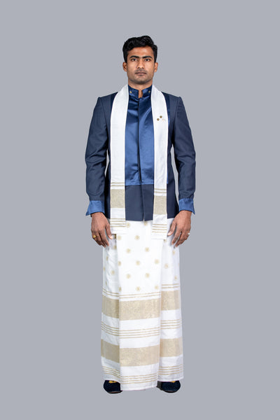 Nilame Sarong and Sri Lankan Jacket National