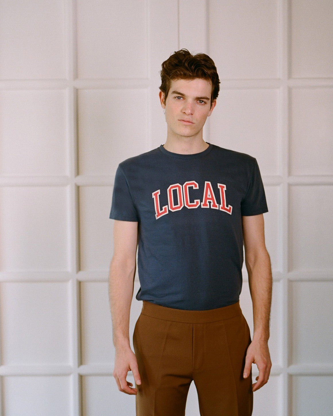 Local Varsity t-shirt French Navy - Local Pattern