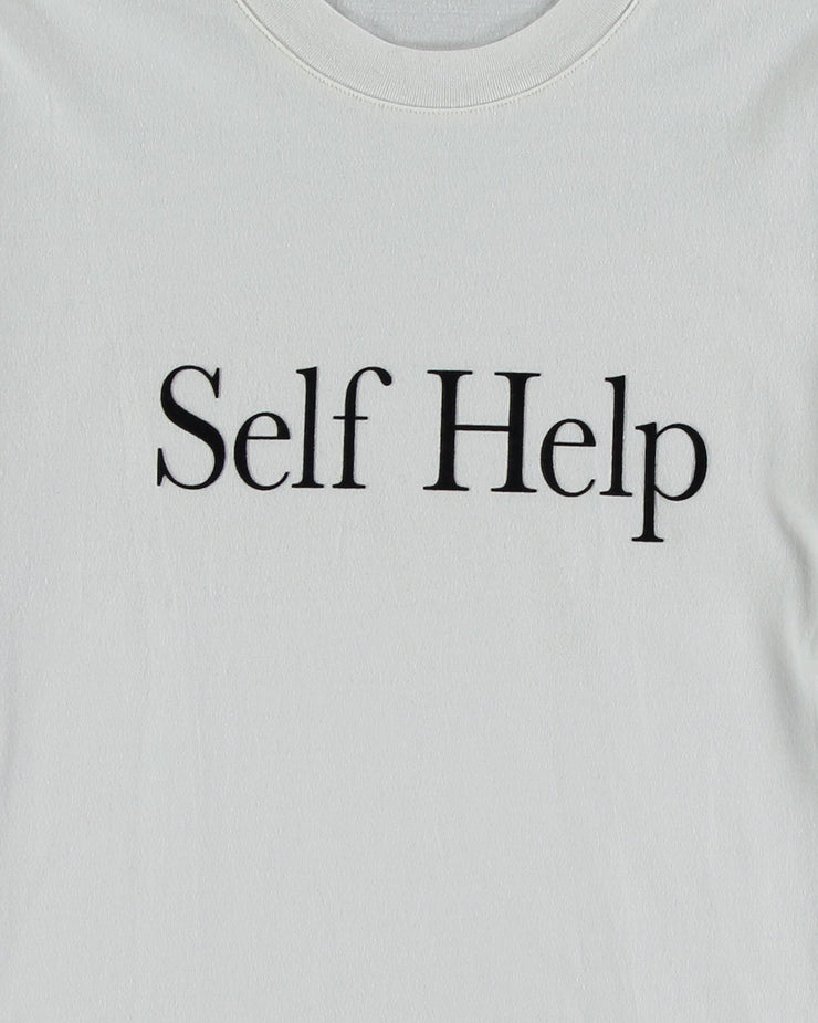 SELF HELP Jude t-shirt Off White - Local Pattern