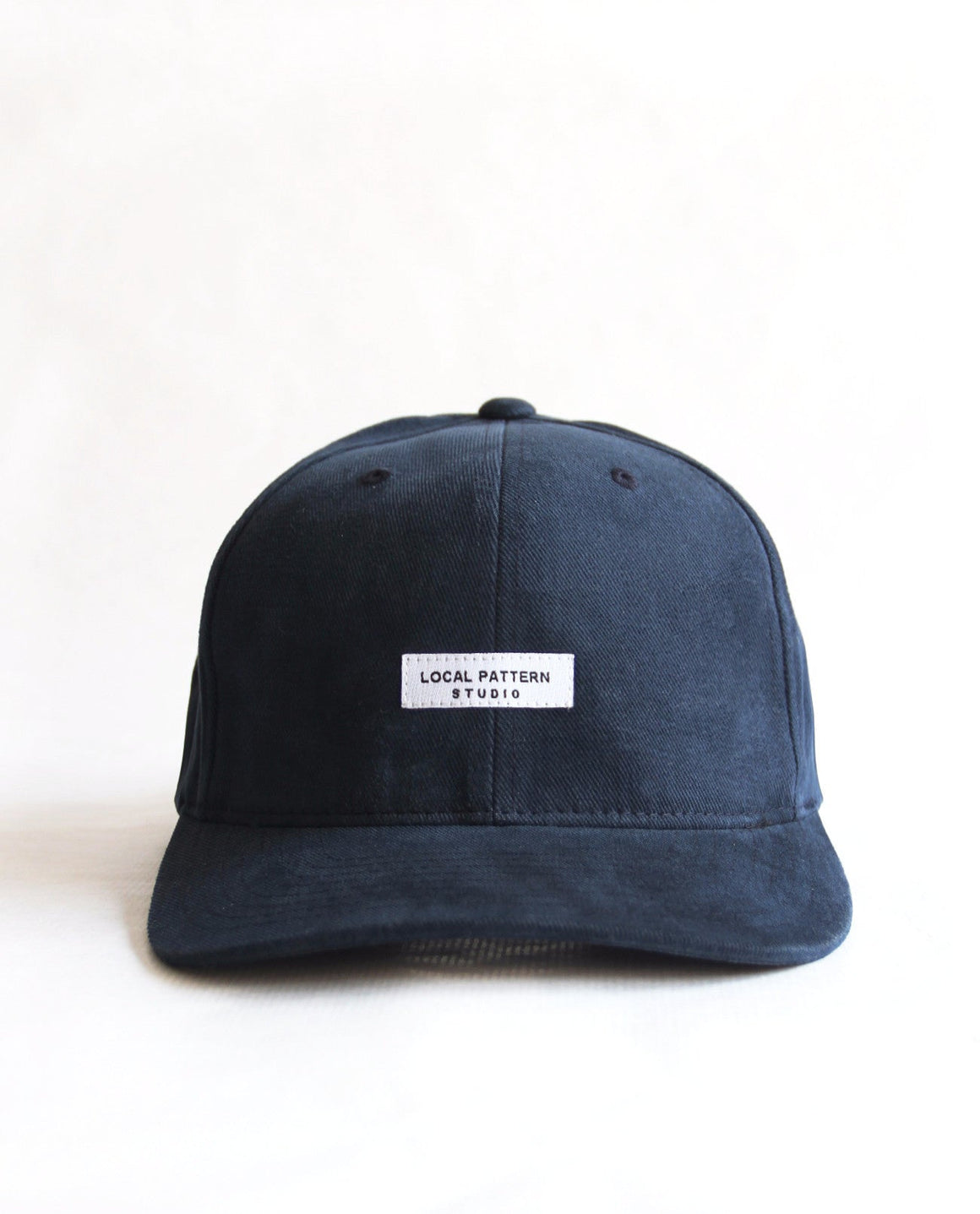 Logo Blue Cap - Local Pattern