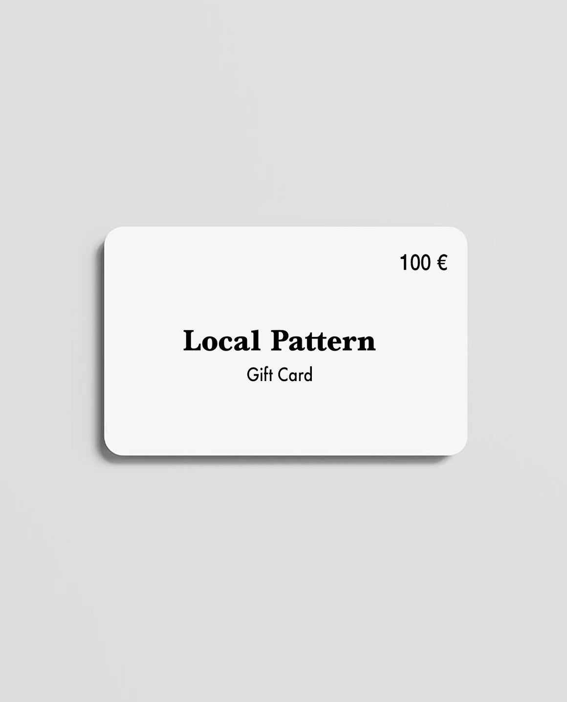 Gift Card - Local Pattern