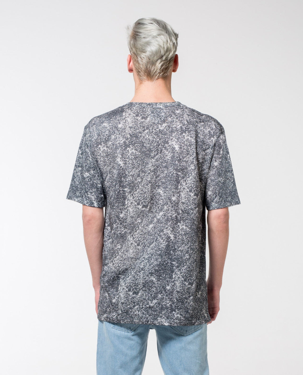Texture Print T-Shirt - Local Pattern  - 1