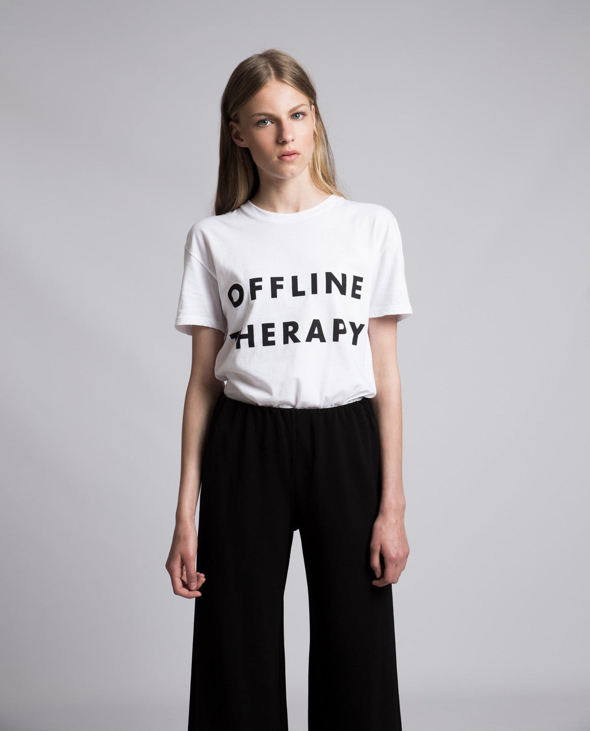 Offline Therapy Tee - Local Pattern