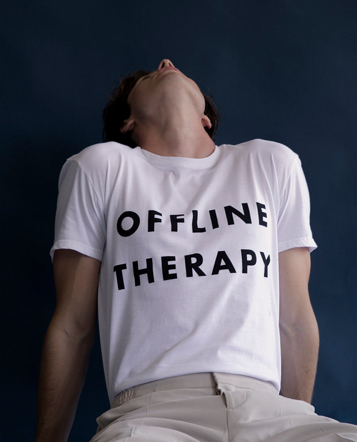 offline therapy t-shirt