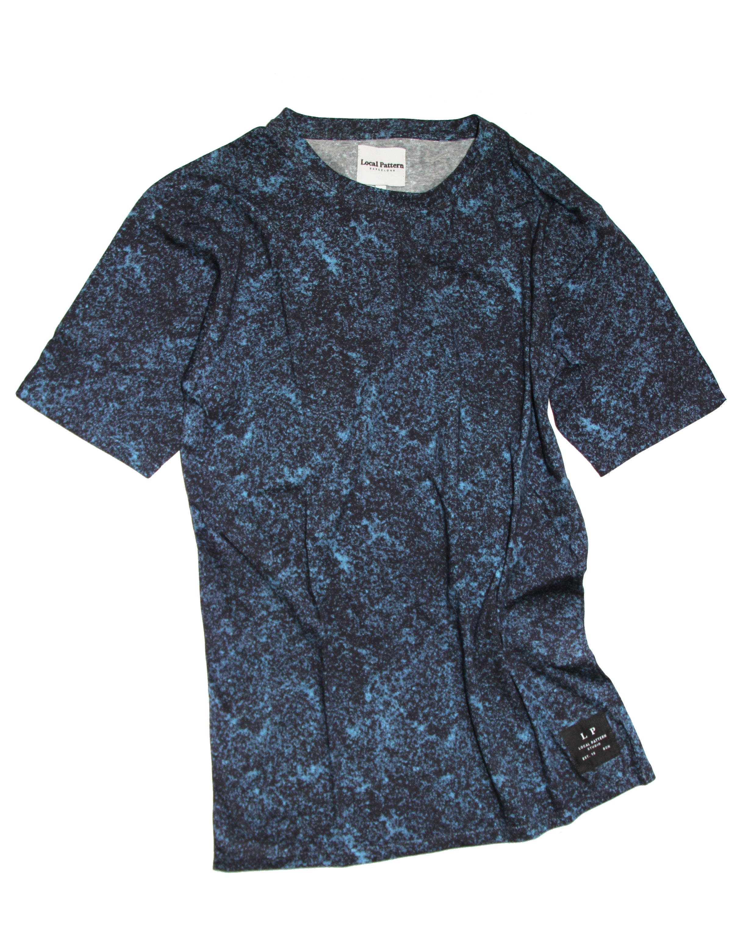 78183ab2 Texture Print Tee by Local Pattern