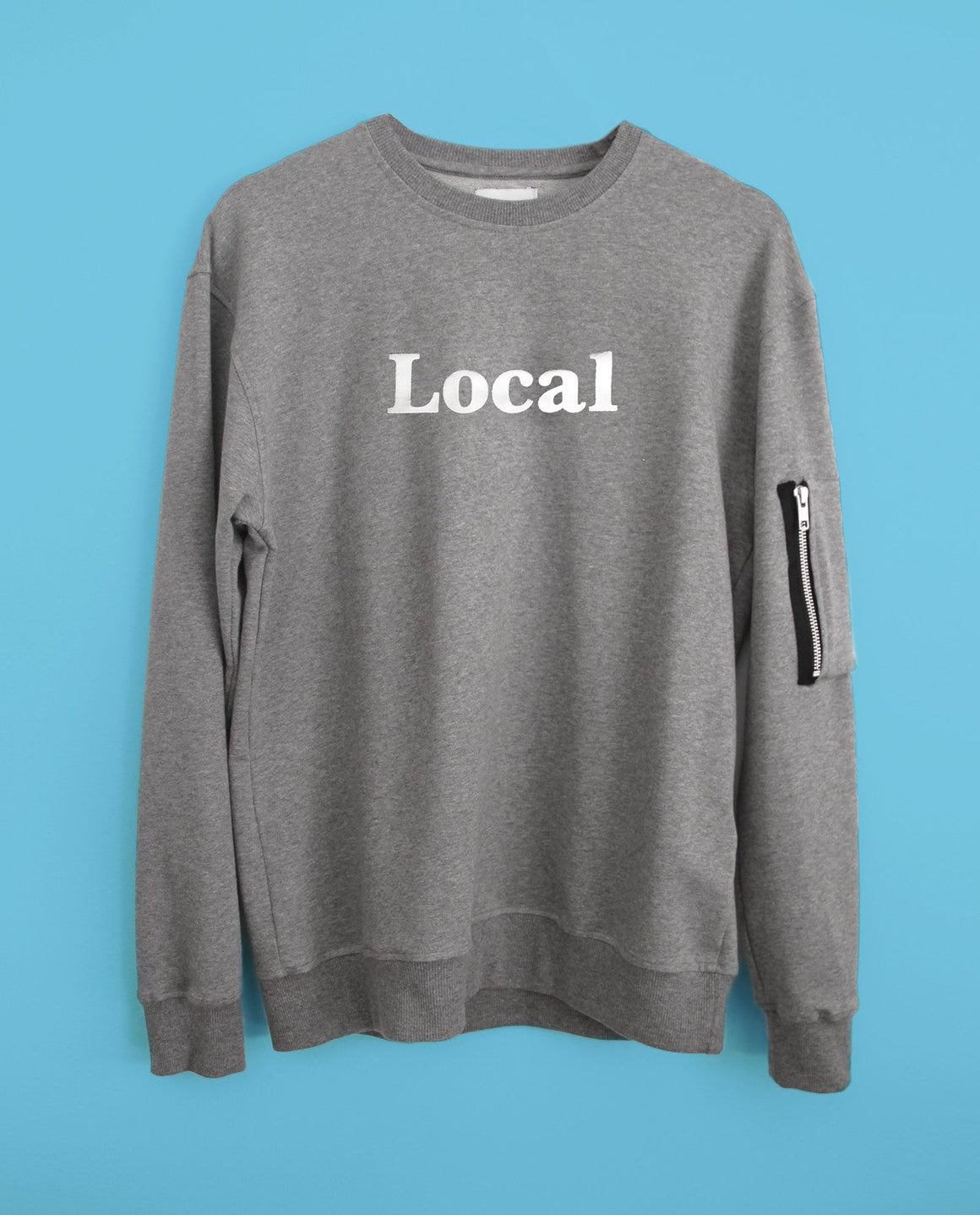 Local Sweatshirt with zipper pocket - Local Pattern