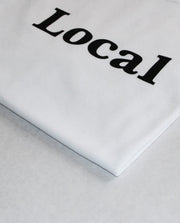 Local Logo T-shirt White - Local Pattern