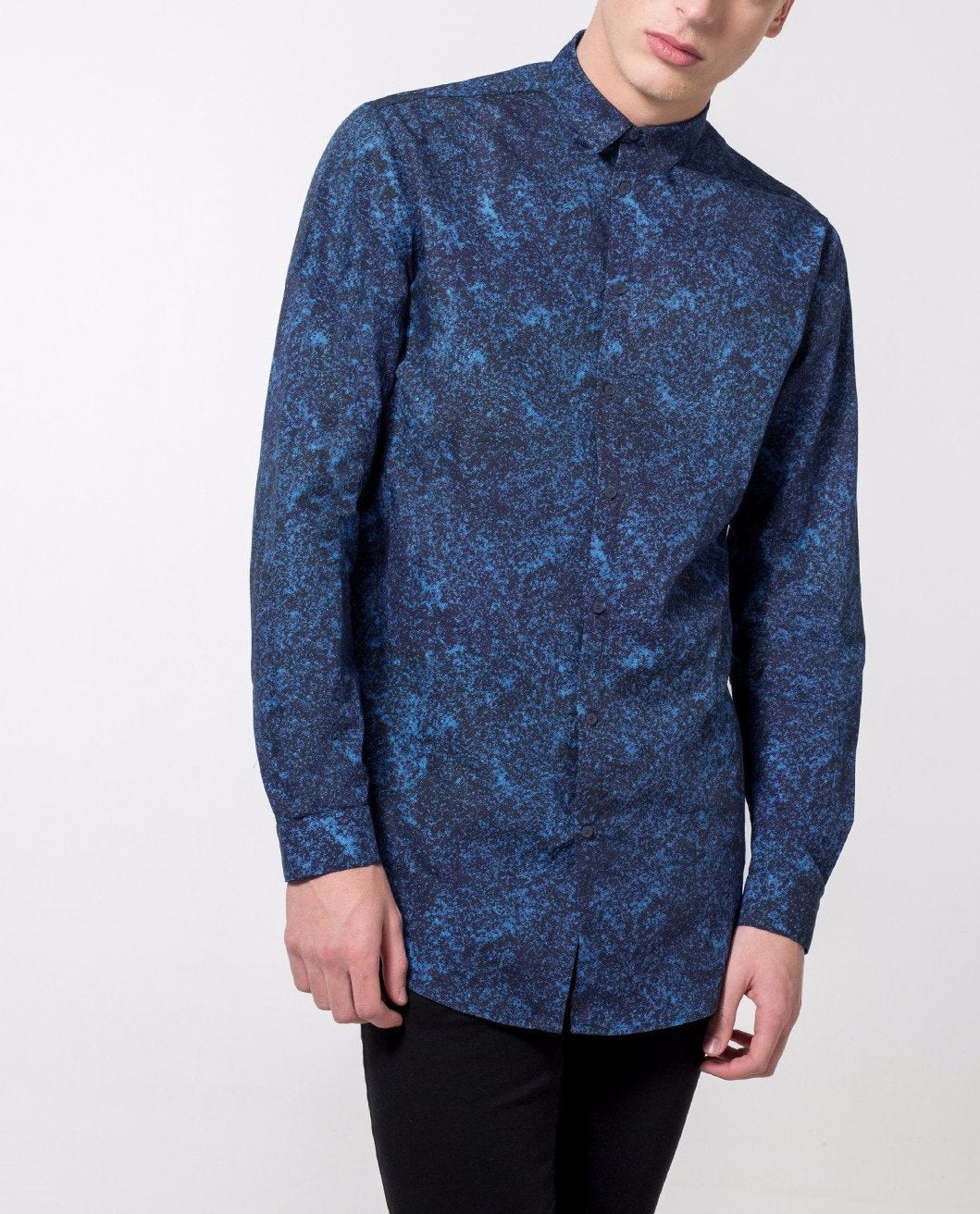 Texture Print Shirt - Local Pattern  - 2